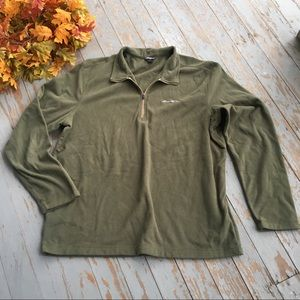 Eddie Bauer 3/4 zip fleece